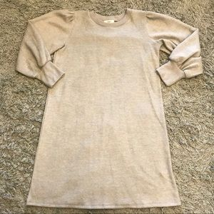 Cherish Puff 3/4 Sleeve Tunic Dress, S